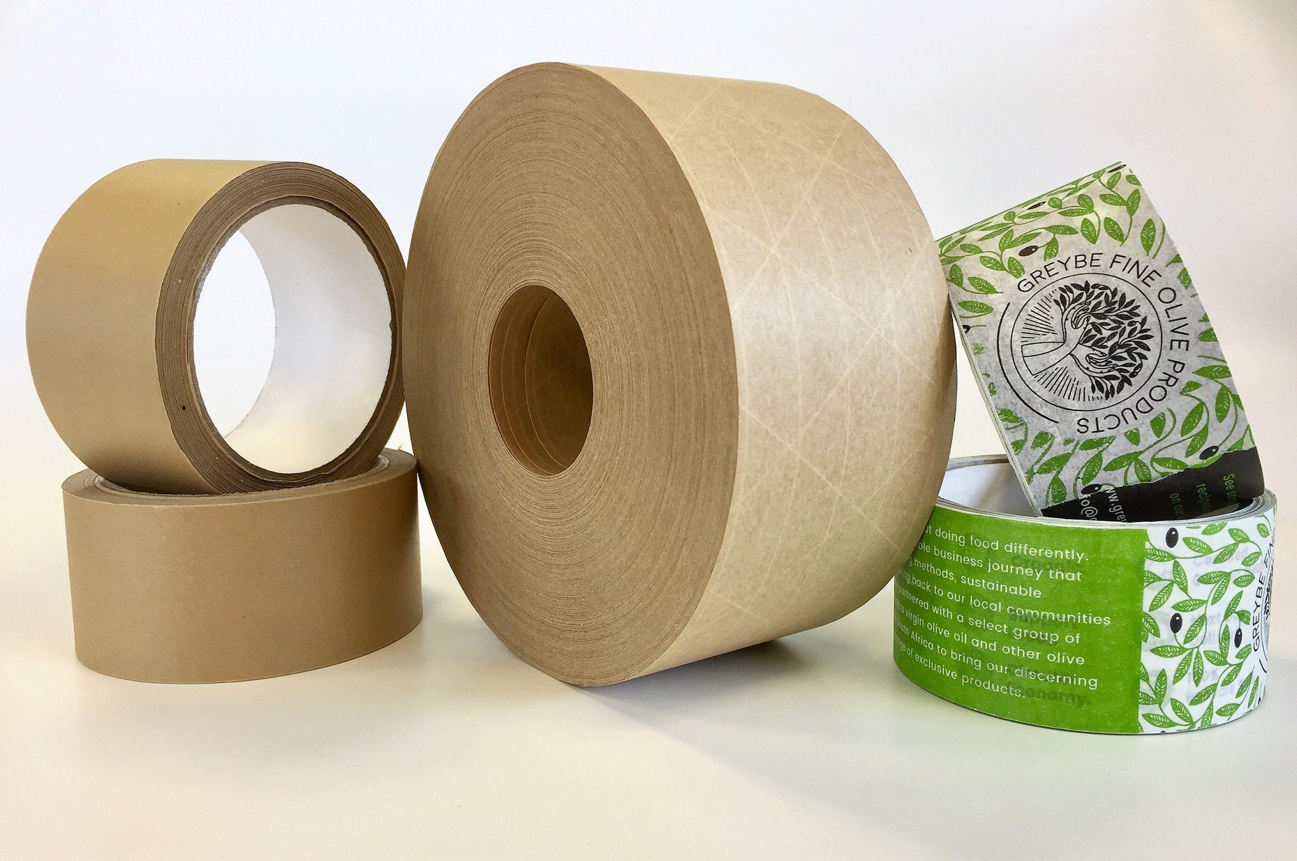 Custom self adhesive paper tape