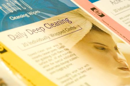Custom cosmetic label printing