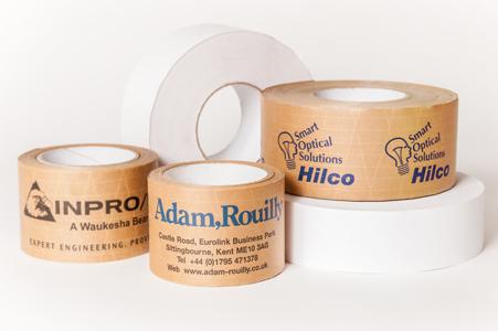Custom gummed paper tape