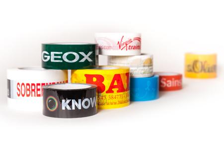 custom printed tape and branded tape