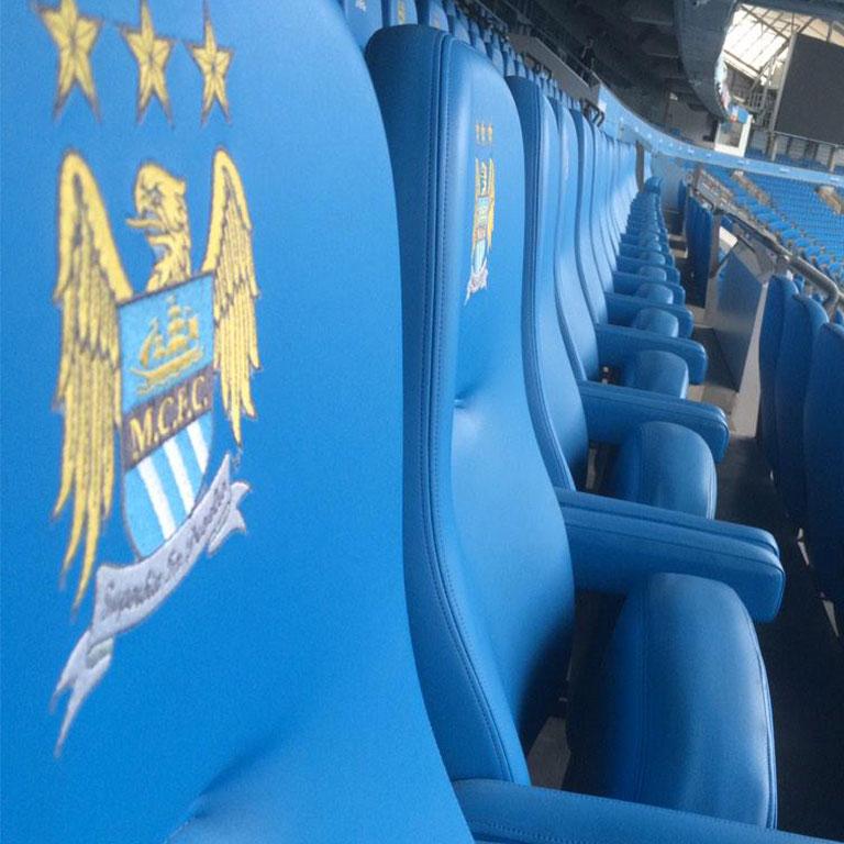 man city chairs