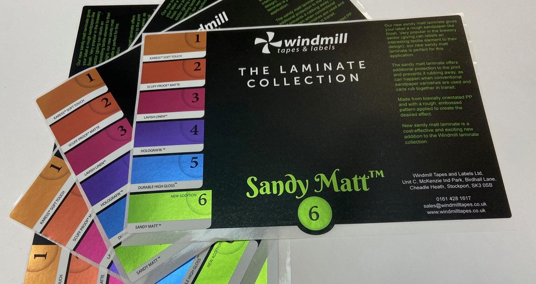 Sandy Matt Laminate