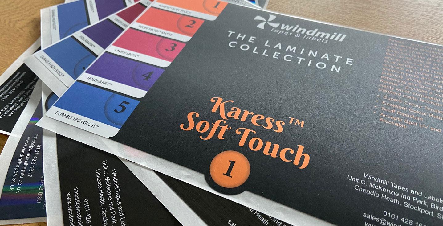 custom laminated labels and varnished labels
